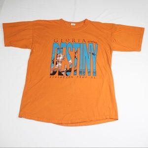 Vintage Gloria Estefan Destiny Tour T-shirt 1996